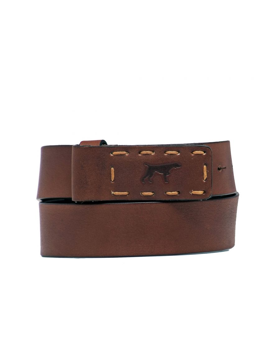 Image for Men's Leather And Adjustable Belt in Brown