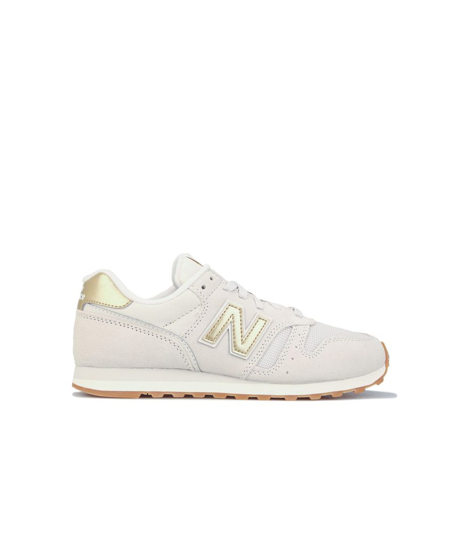Image for Women's New Balance 373 Trainers in Cream