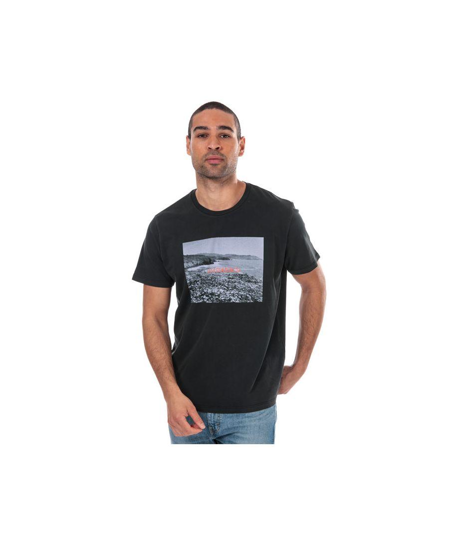 Image for Men's Levis Graphic Photo T-Shirt Black Sin Black