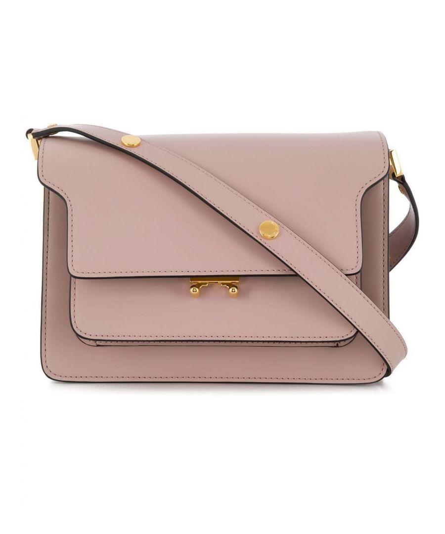 Image for MARNI WOMEN'S SBMPN09NO1LV583ZC20N PINK LEATHER SHOULDER BAG