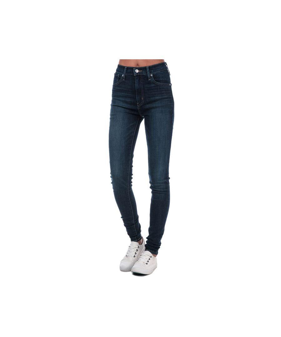 Image for Women's Levis Mile High Super Skinny Jeans in Indigo