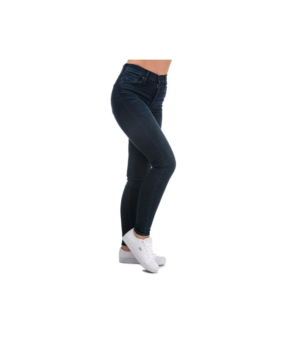 Image for Women's Levis Mile High Super Skinny Jeans in Denim