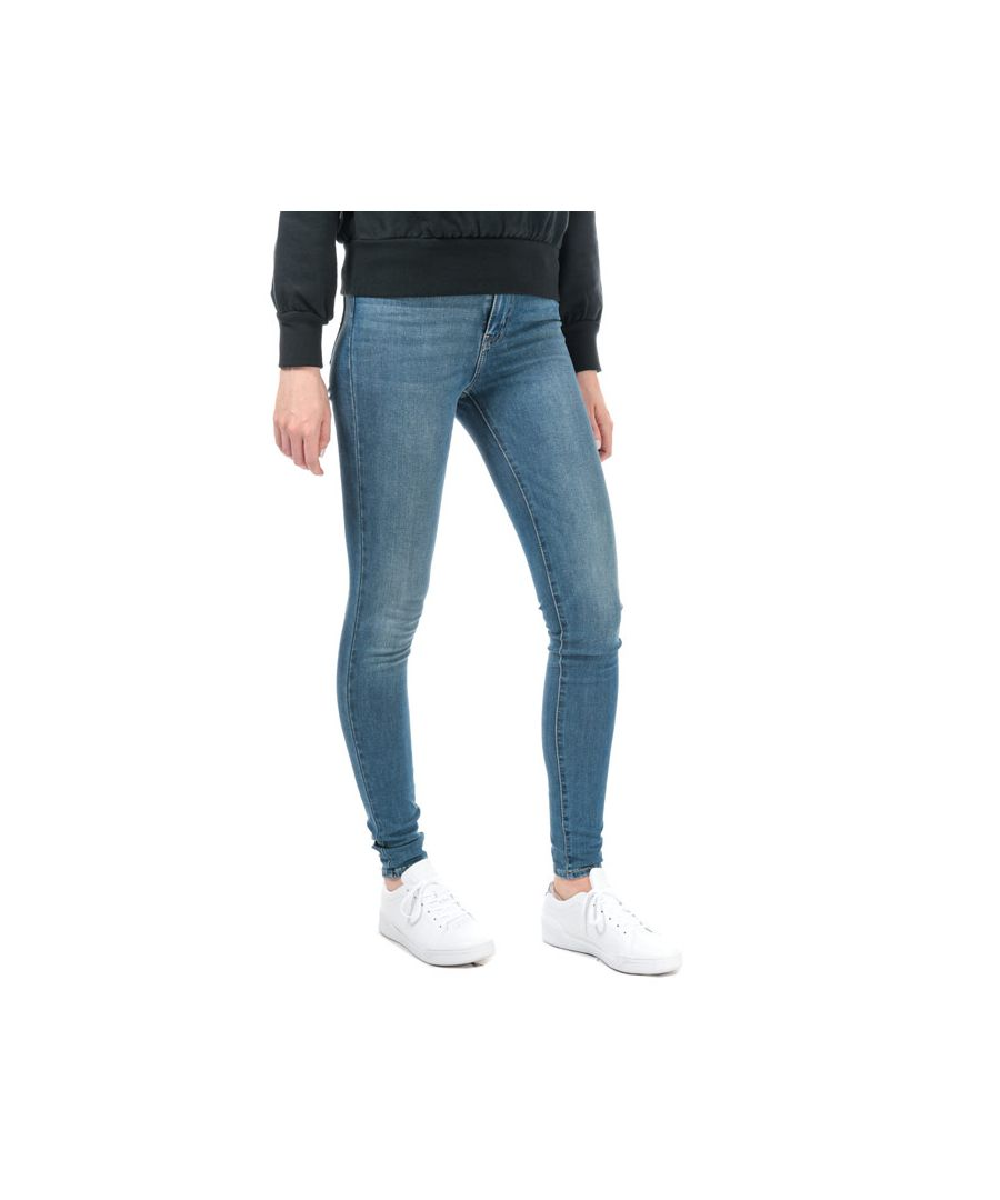 Image for Women's Levis Mile High Super Skinny Jeans in Denim