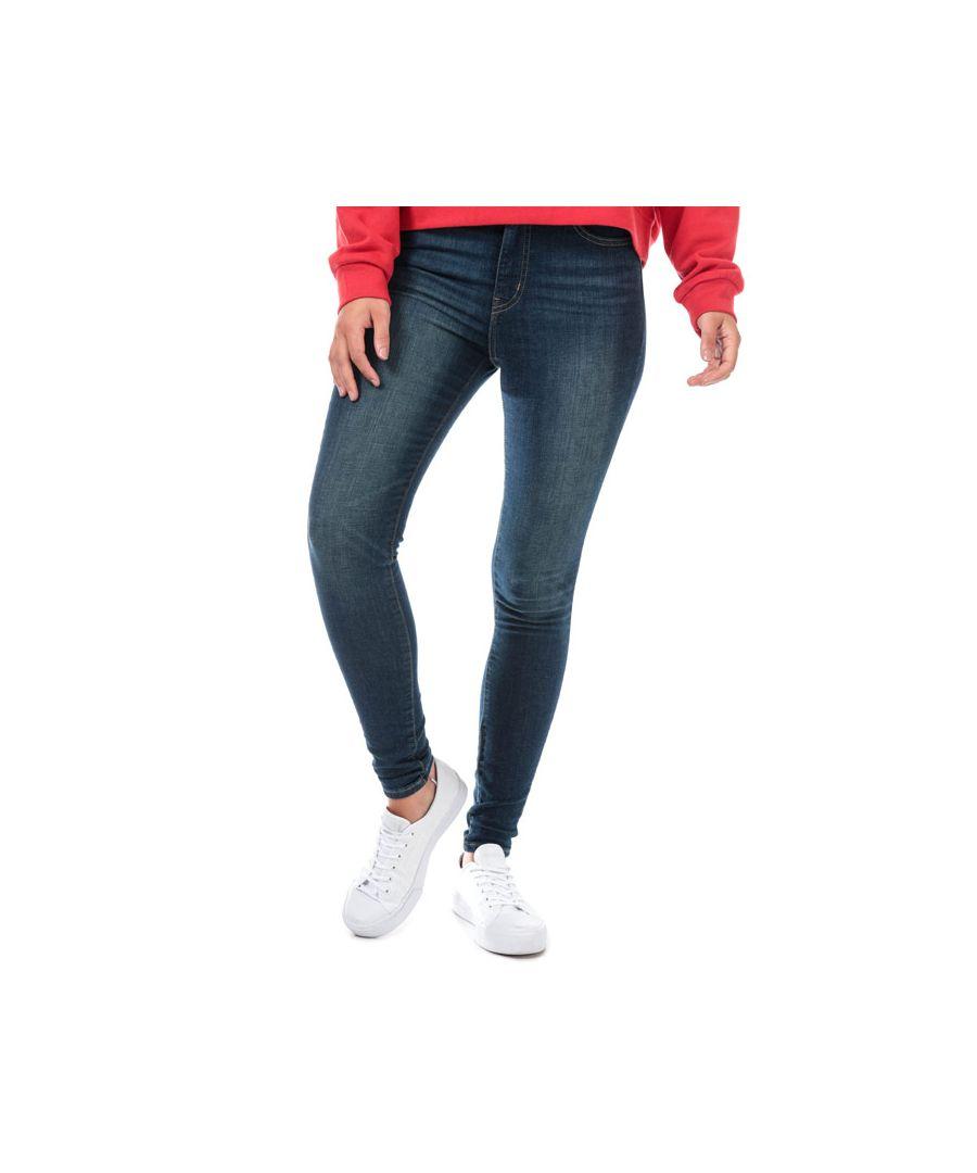 Image for Women's Levis Mile High Super Skinny Jeans in Dark Blue