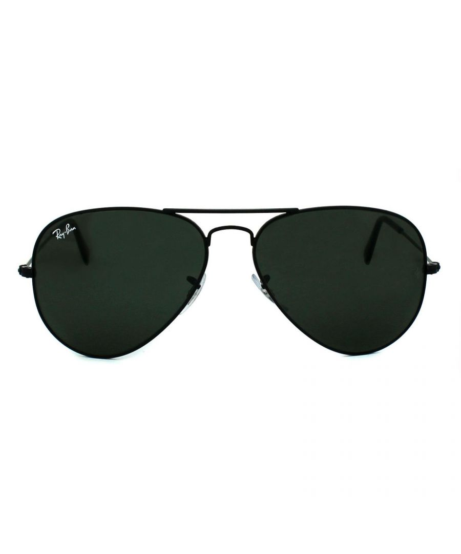 Image for Ray-Ban Sunglasses Aviator 3025 L2823 Black Green