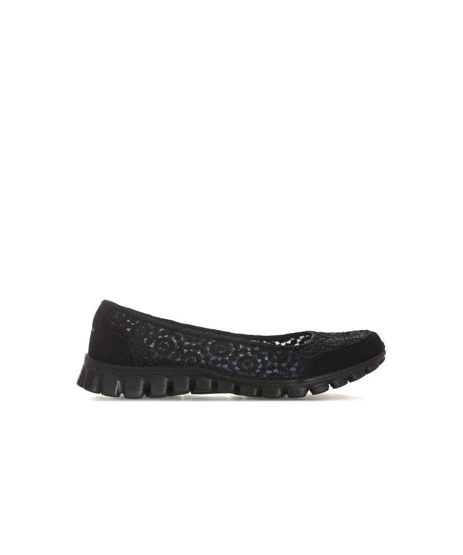 Image for Women's Skechers Sport Active EZ Flex 2 Shoes in Black