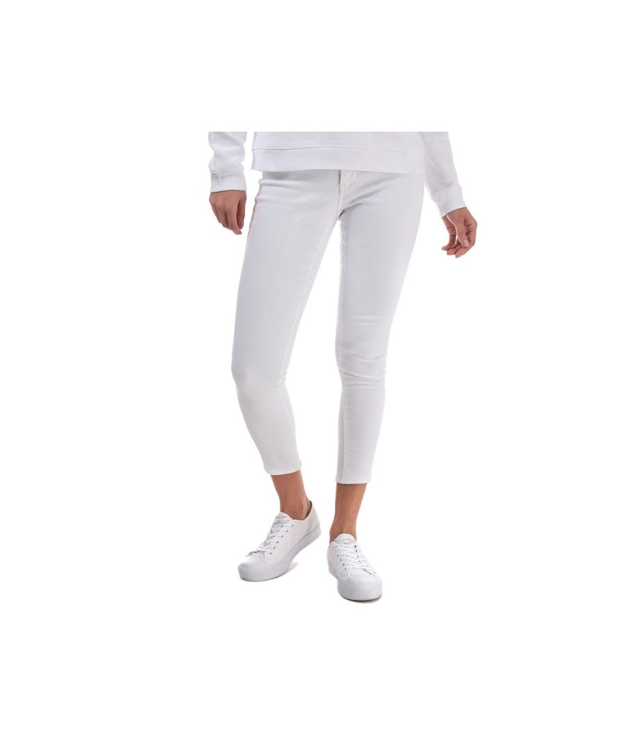 Image for Women's Levis 311 Shaping Ankle Skinny Jeans in White