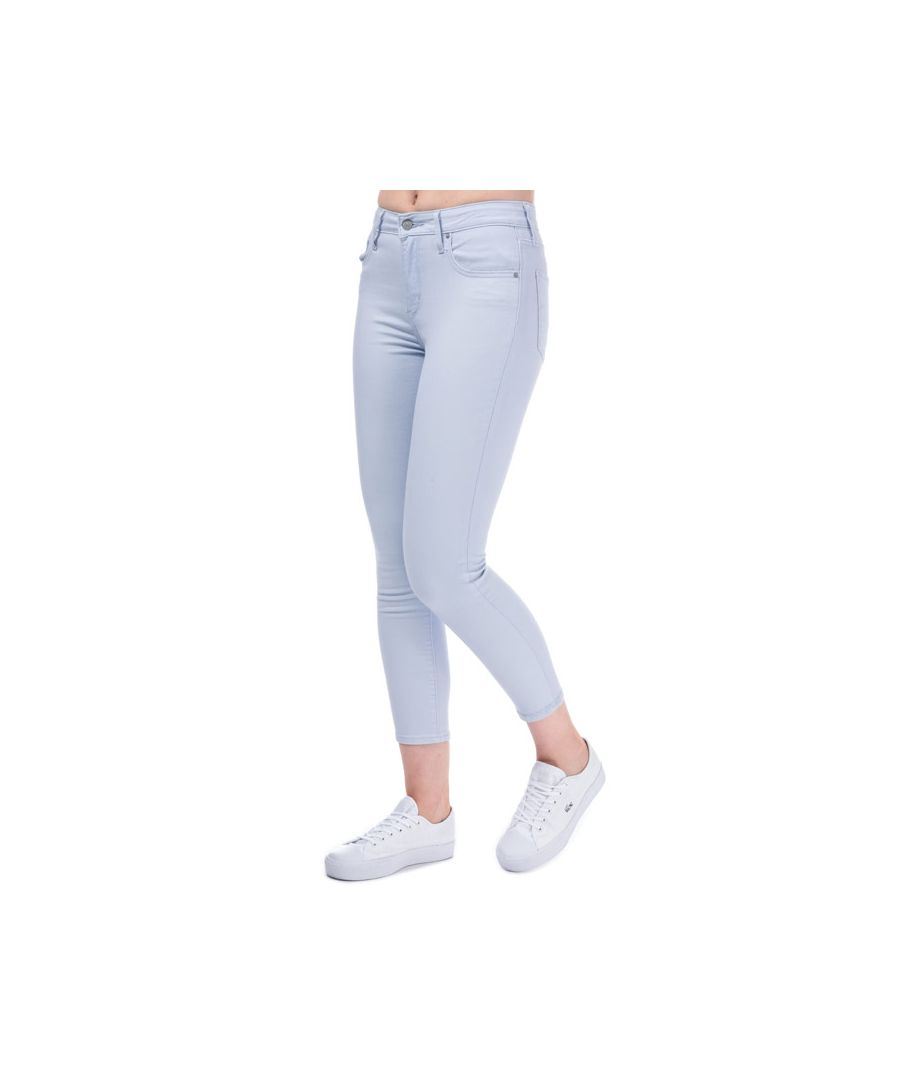 Image for Women's Levis 721 High Rise Skinny Ankle Jeans in Light Blue