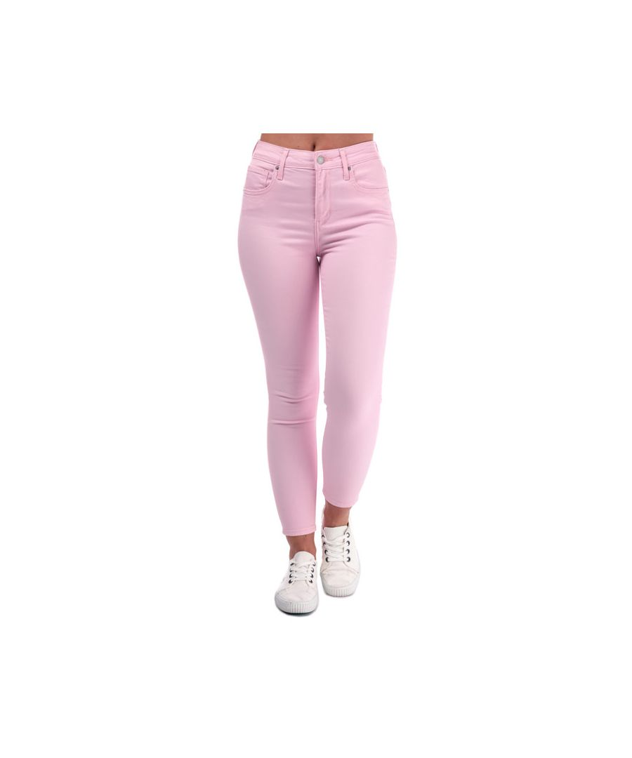 Image for Women's Levis 721 High Rise Skinny Ankle Jeans in Pink