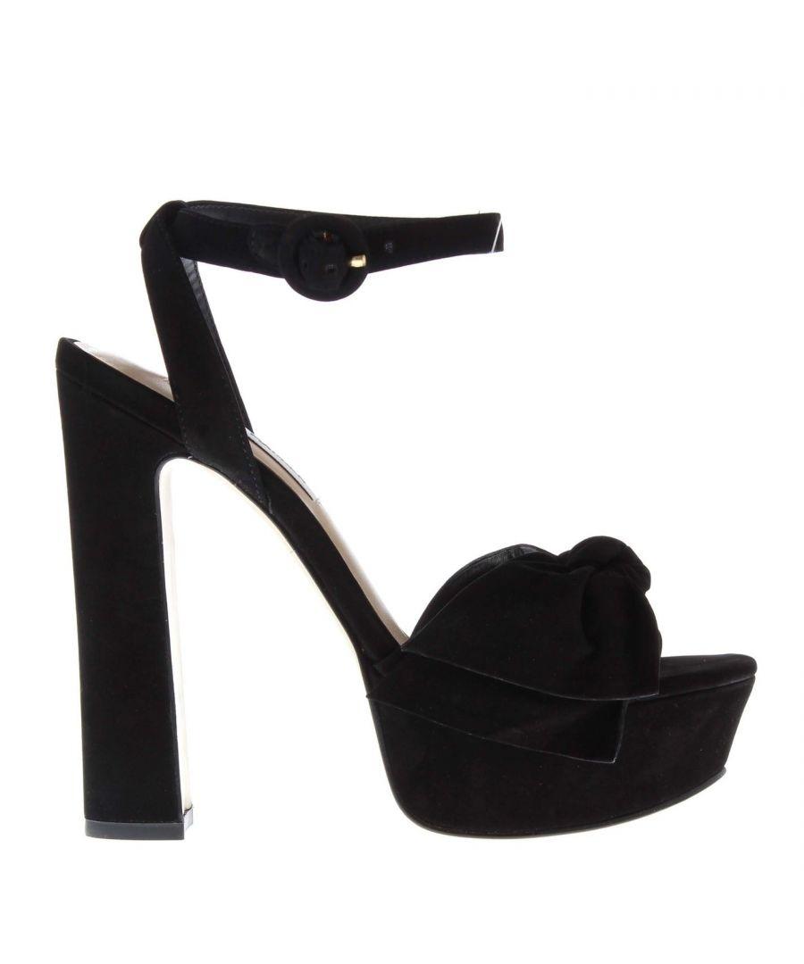 Image for Steve Madden Womens Breena Platform Sandals Stiletto Heels Buckle Fastening