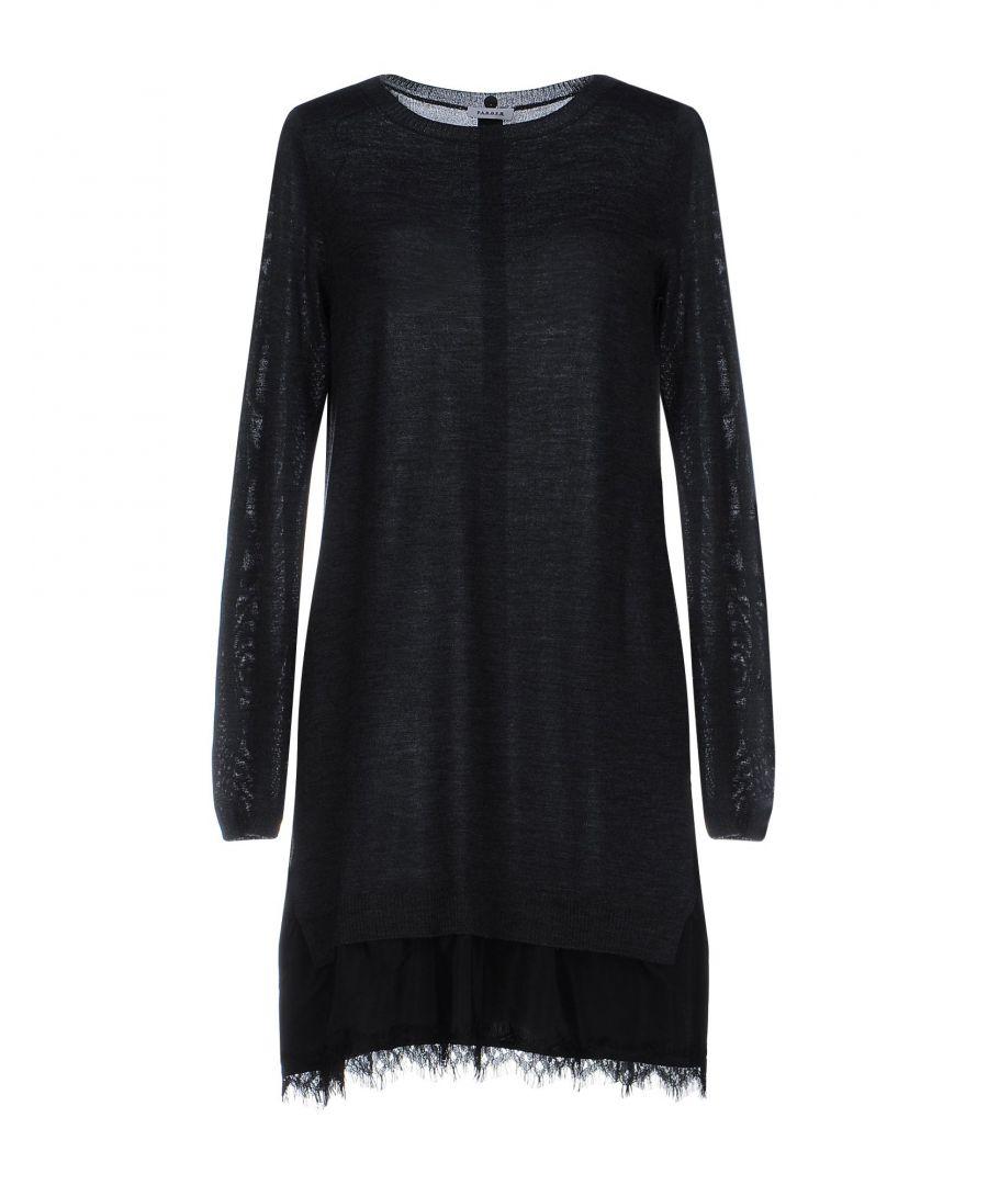 Image for P.A.R.O.S.H. Women's Short Wool Dress