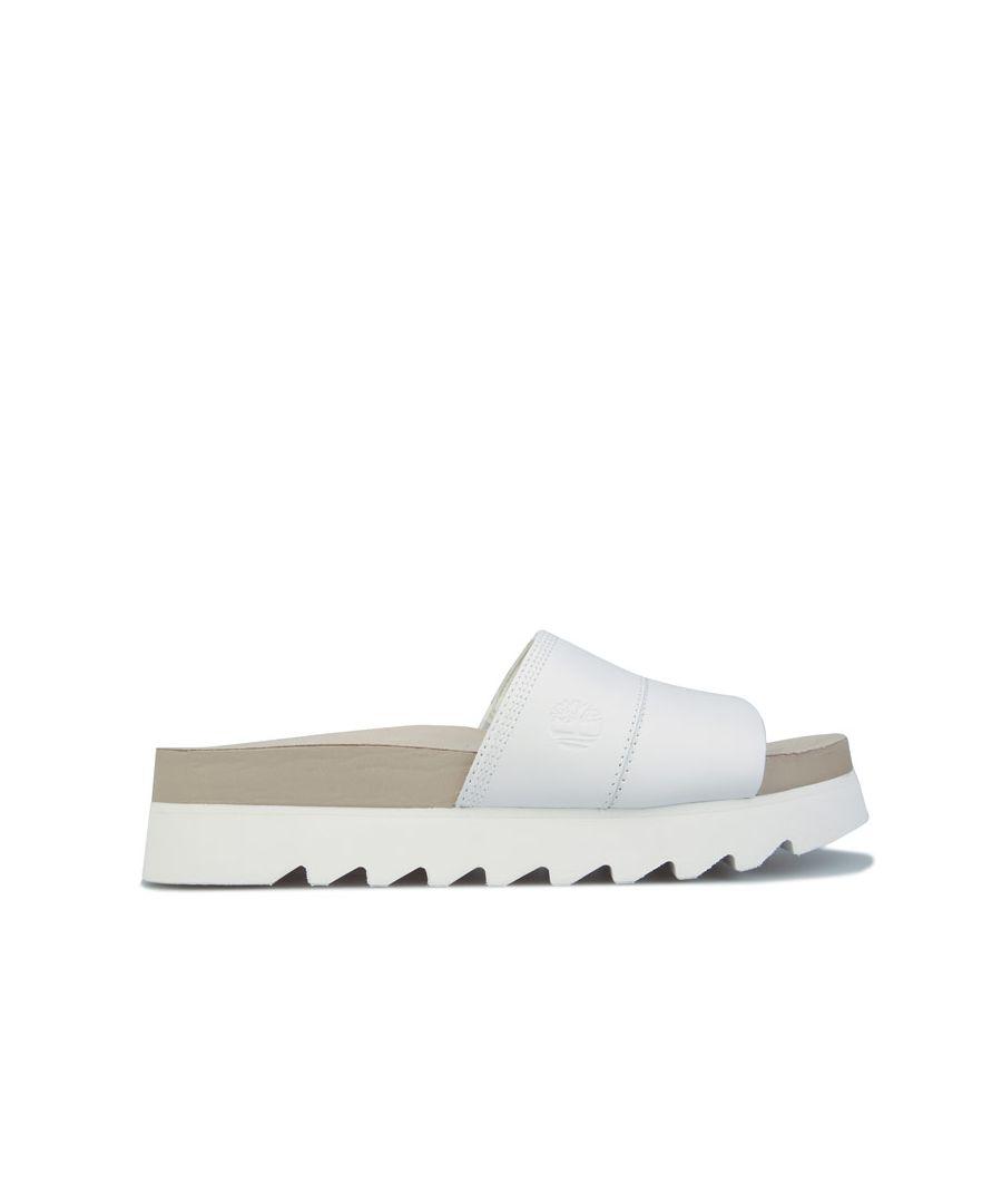 Image for Women's Timberland Santa Monica Sunrise Slide Sandals in White