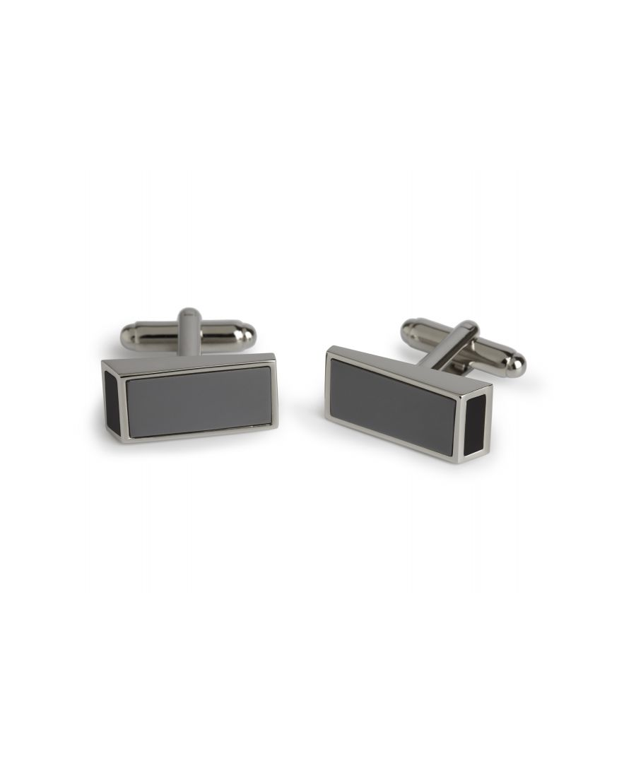 Image for Heamatite Onyx Wedge Cufflinks