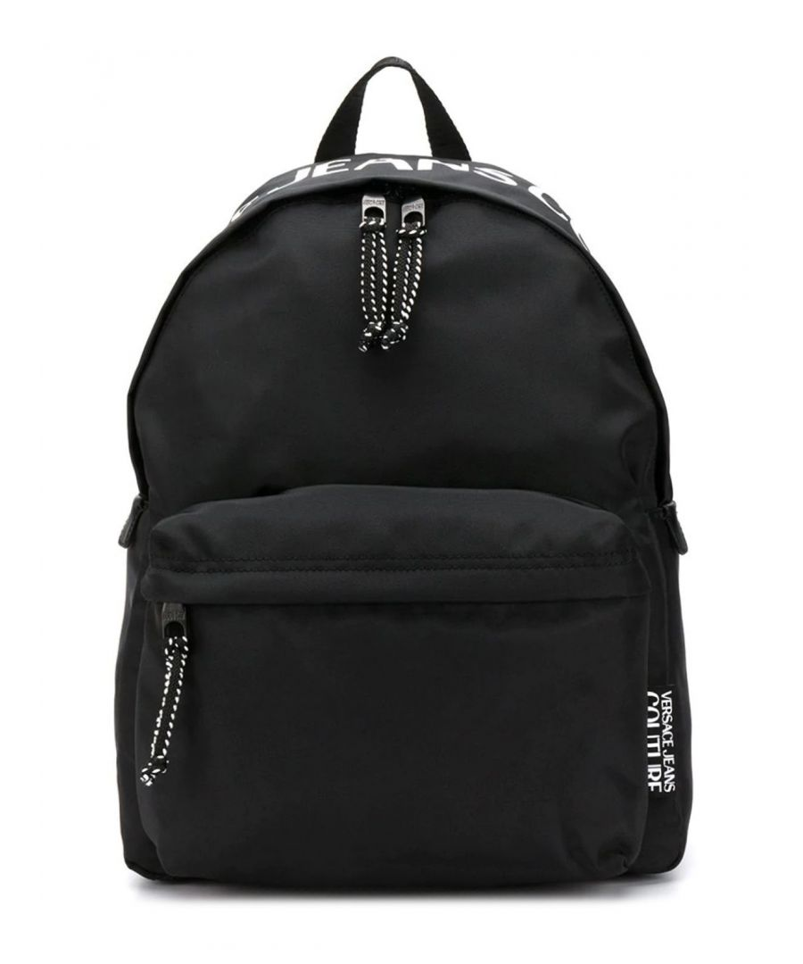 Image for VERSACE JEANS MEN'S E1YVBB4171428899 BLACK SYNTHETIC FIBERS BACKPACK