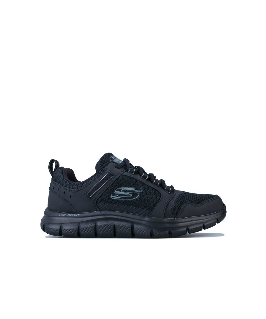 Image for Men's Skechers Track Knockhill Trainers in Black