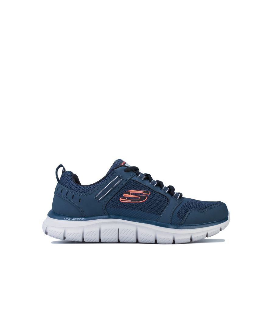 Image for Men's Skechers Track Knockhill Trainers in Navy