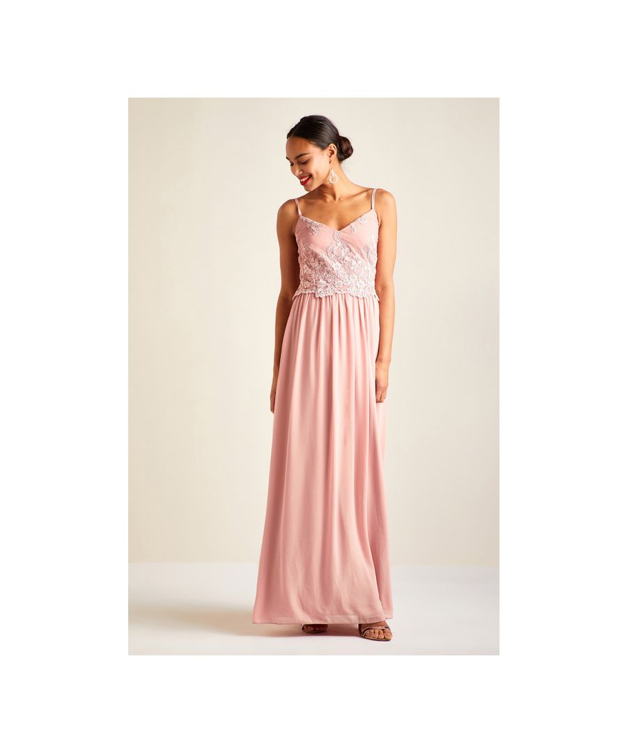 Image for Blush Party Maxi Dress