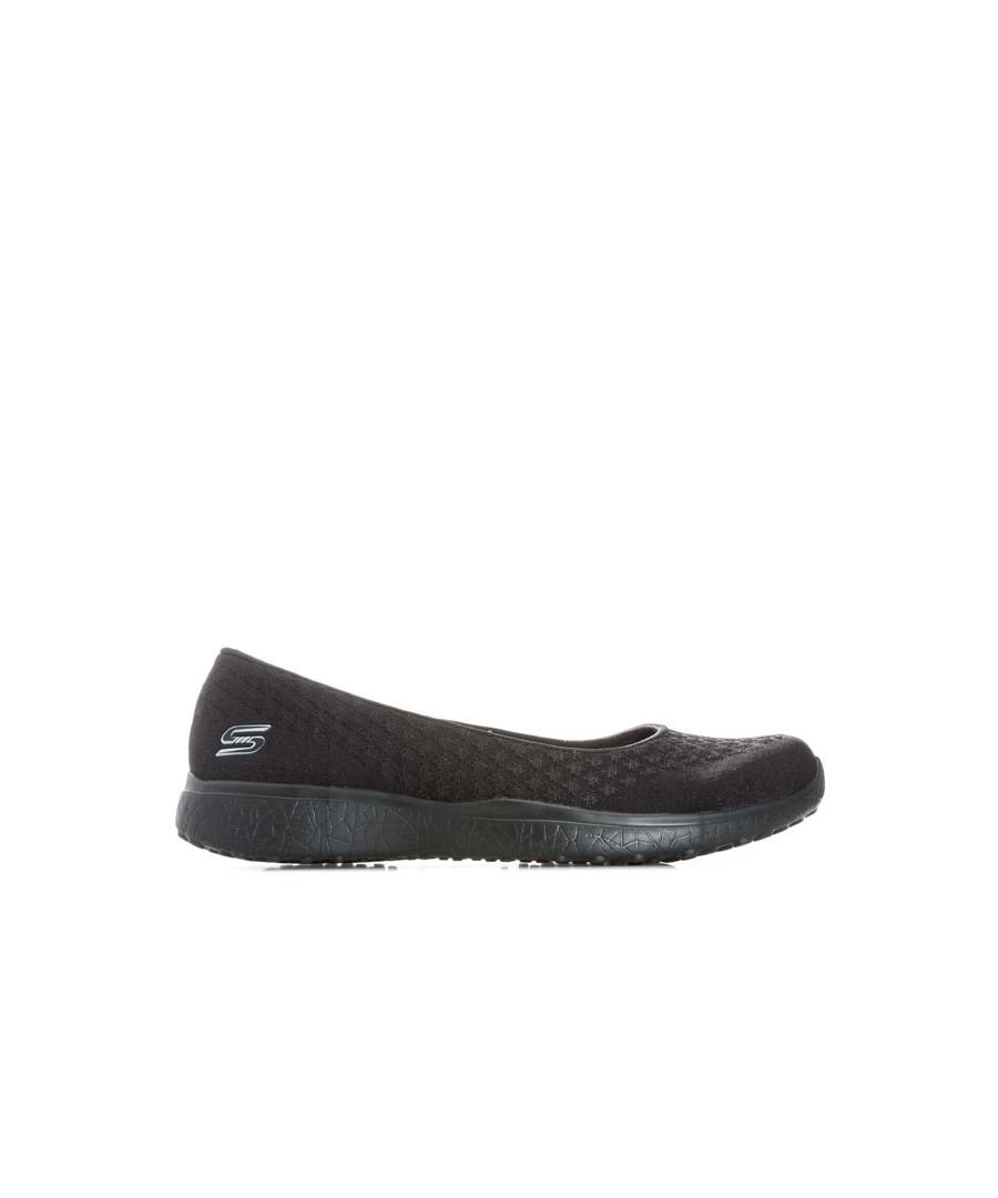 Image for Women's Skechers Microburst One Up Shoes in Black