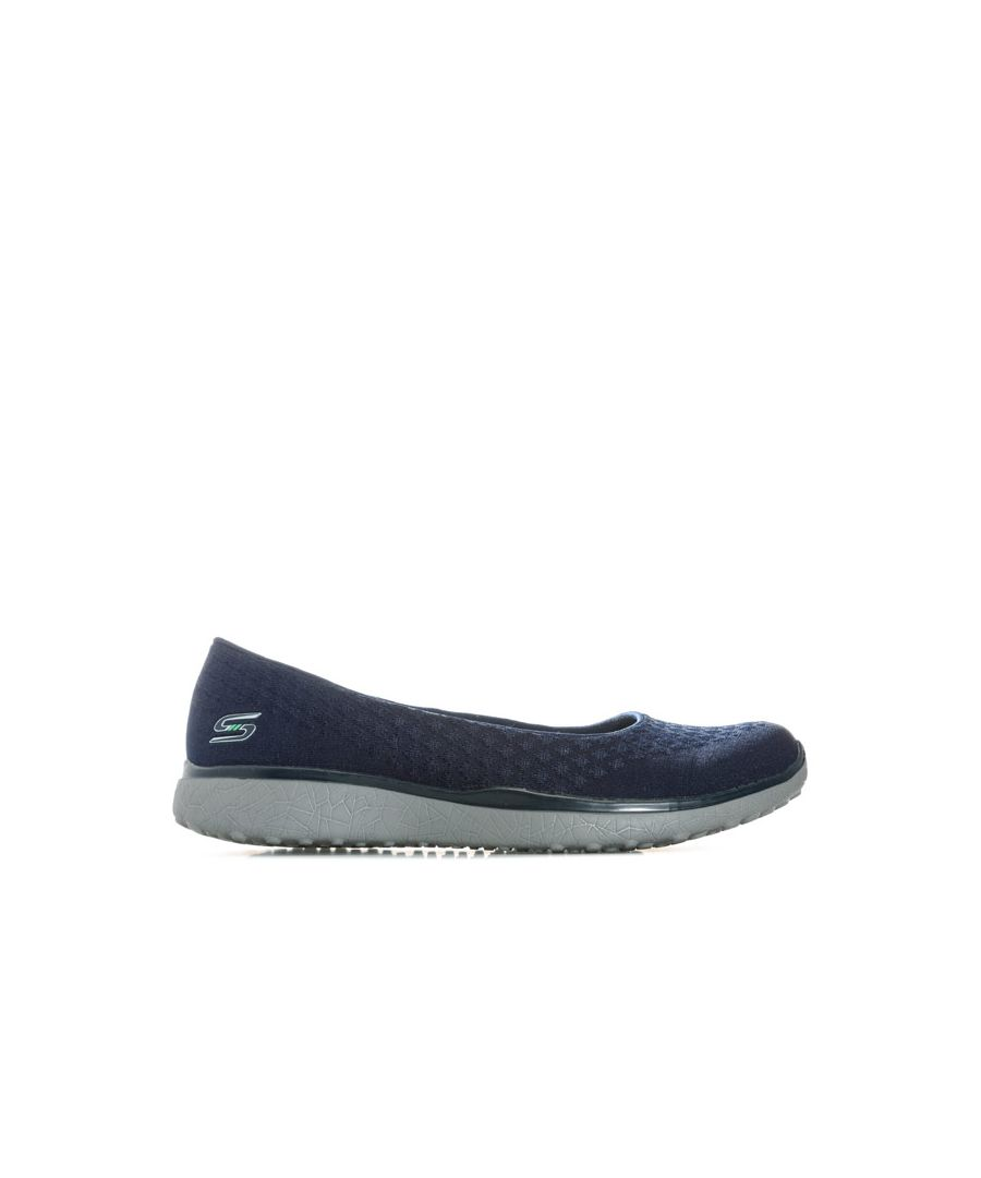 Image for Women's Skechers Microburst One Up Shoes in Navy