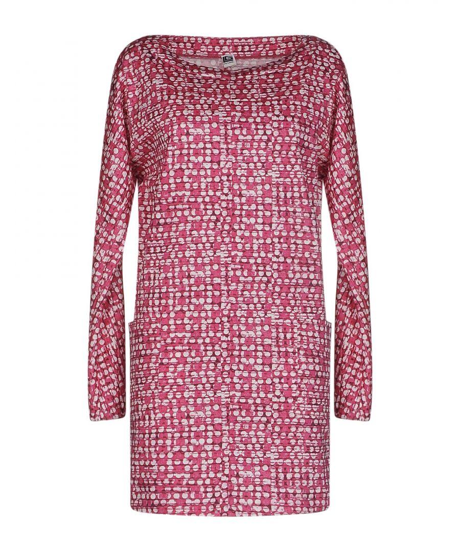 Image for Guy Laroche Cotton Pattern Dress