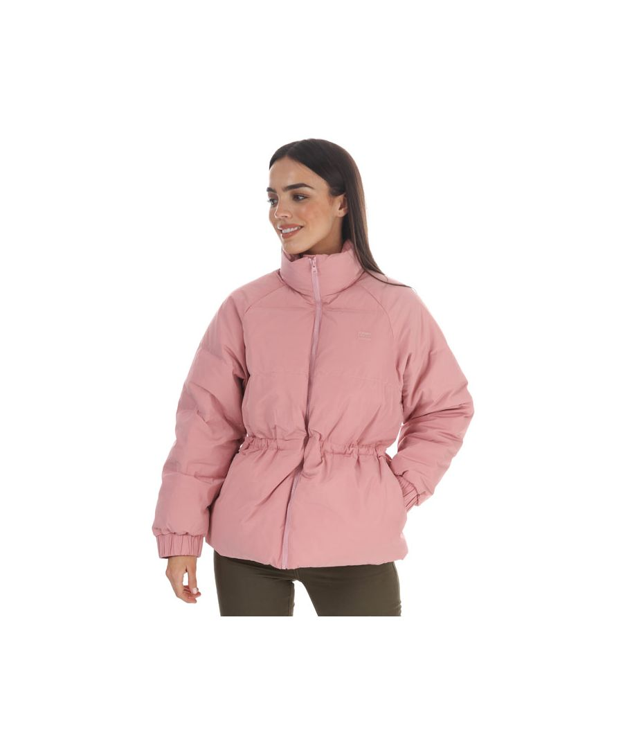 Image for Women's Levi's Rosa Fashion Down Jacket Pink 6In Pink