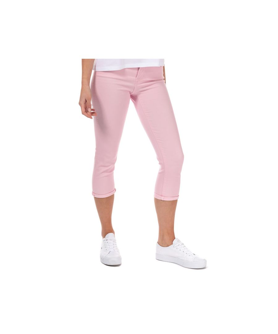 Image for Women's Levis 311 Shaping Capri Skinny Jeans in Pink