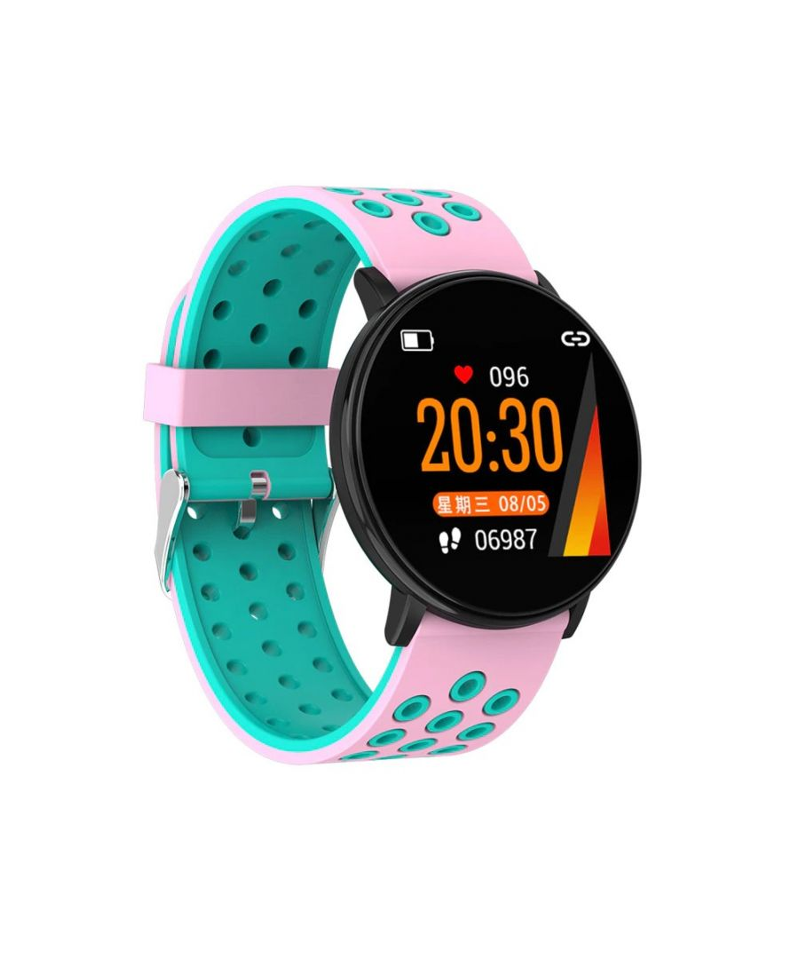 Image for LKS IP67 Multi-function Unisex Bluetooth Smart Watch for Android / IOS, Pink