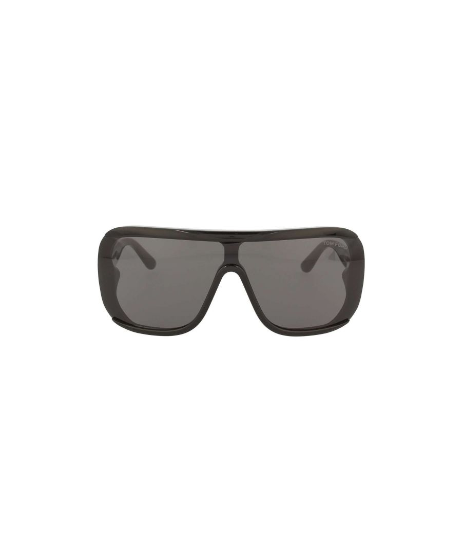 Image for TOM FORD MEN'S FT055901A BLACK PVC SUNGLASSES