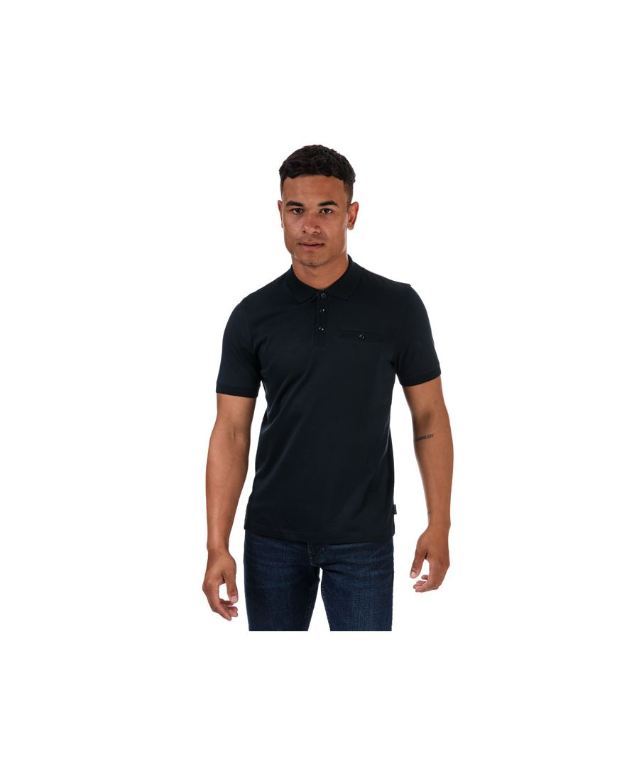 Image for Men's Ted Baker Pumit Polo Shirt in Navy