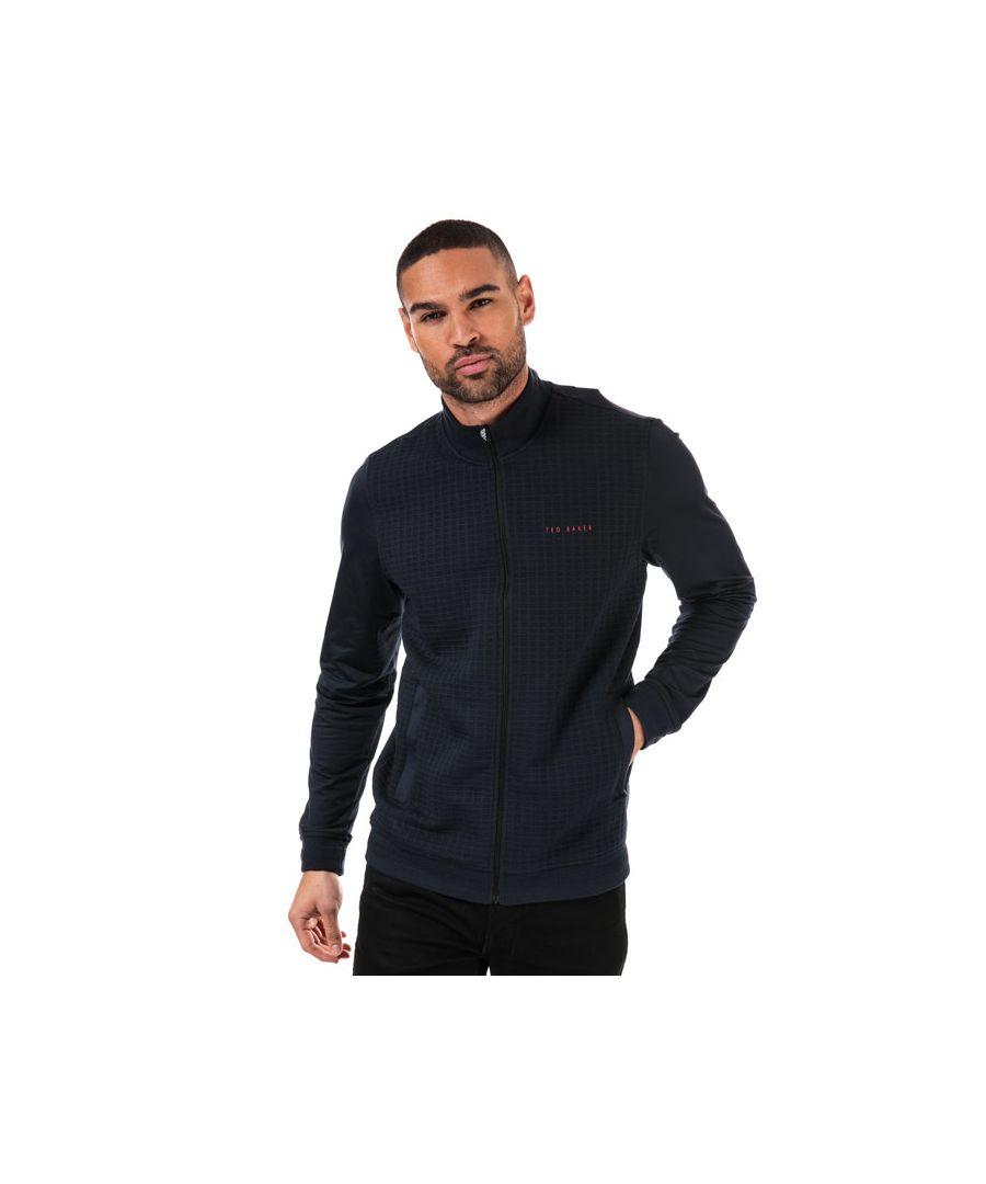 Image for Men's Ted Baker Goodput Full Zip Sweatshirt in Navy