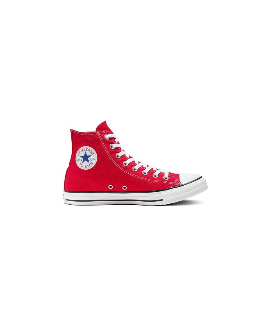 Image for Converse All Star Unisex Chuck Taylor High Tops - Red