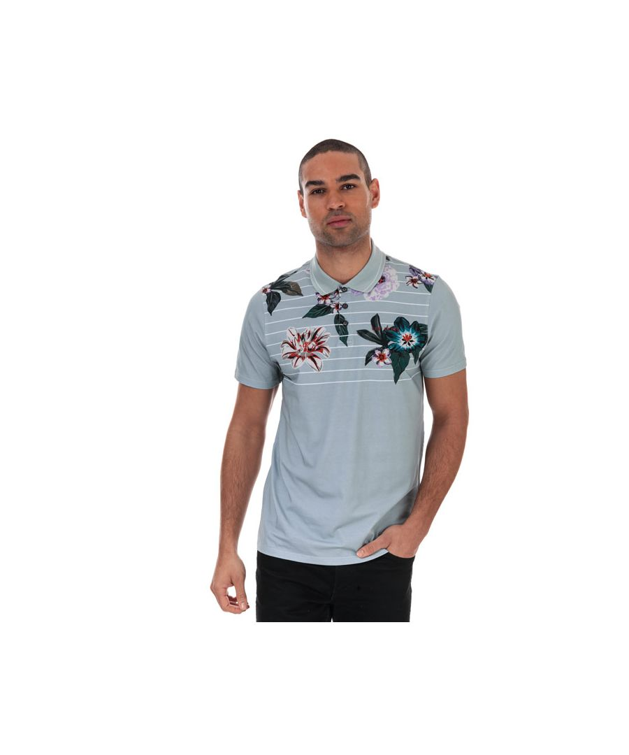Image for Men's Ted Baker Swings Golf Polo Shirt in Grey