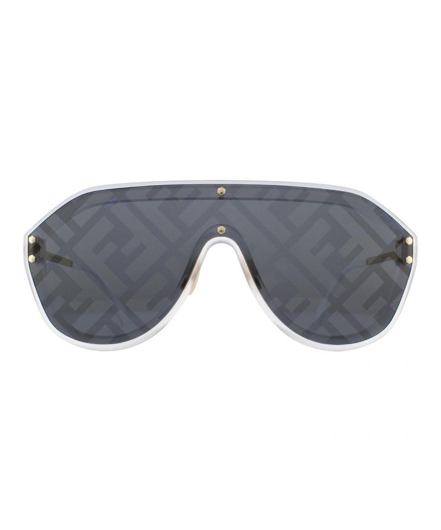 Image for Fendi Sunglasses M0039/G/S 83I 7R Gold Silver Monogram Blue Silver