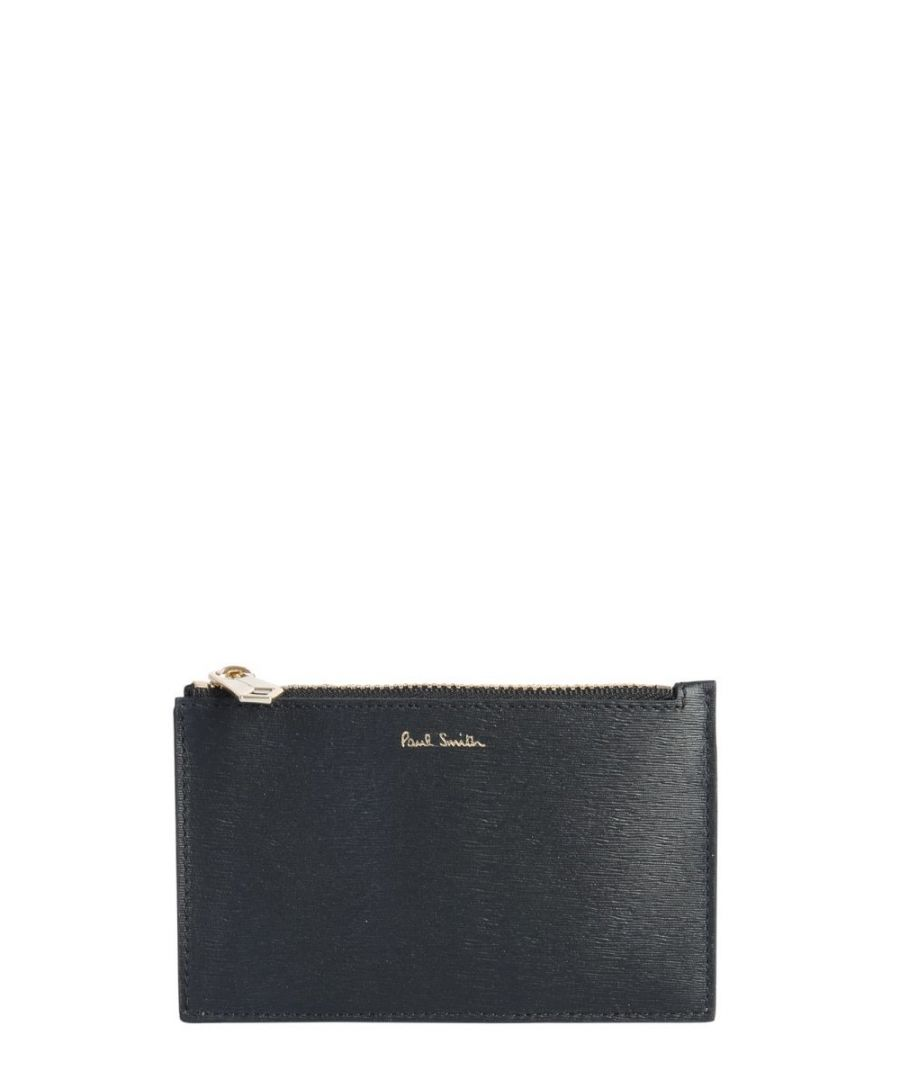 Image for PAUL SMITH MEN'S M1A6136ASTRGS78 BLACK LEATHER CARD HOLDER