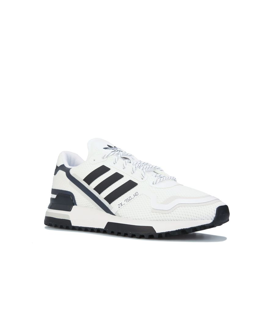 Image for Men's adidas Originals ZX 750 HD Trainers in White Black