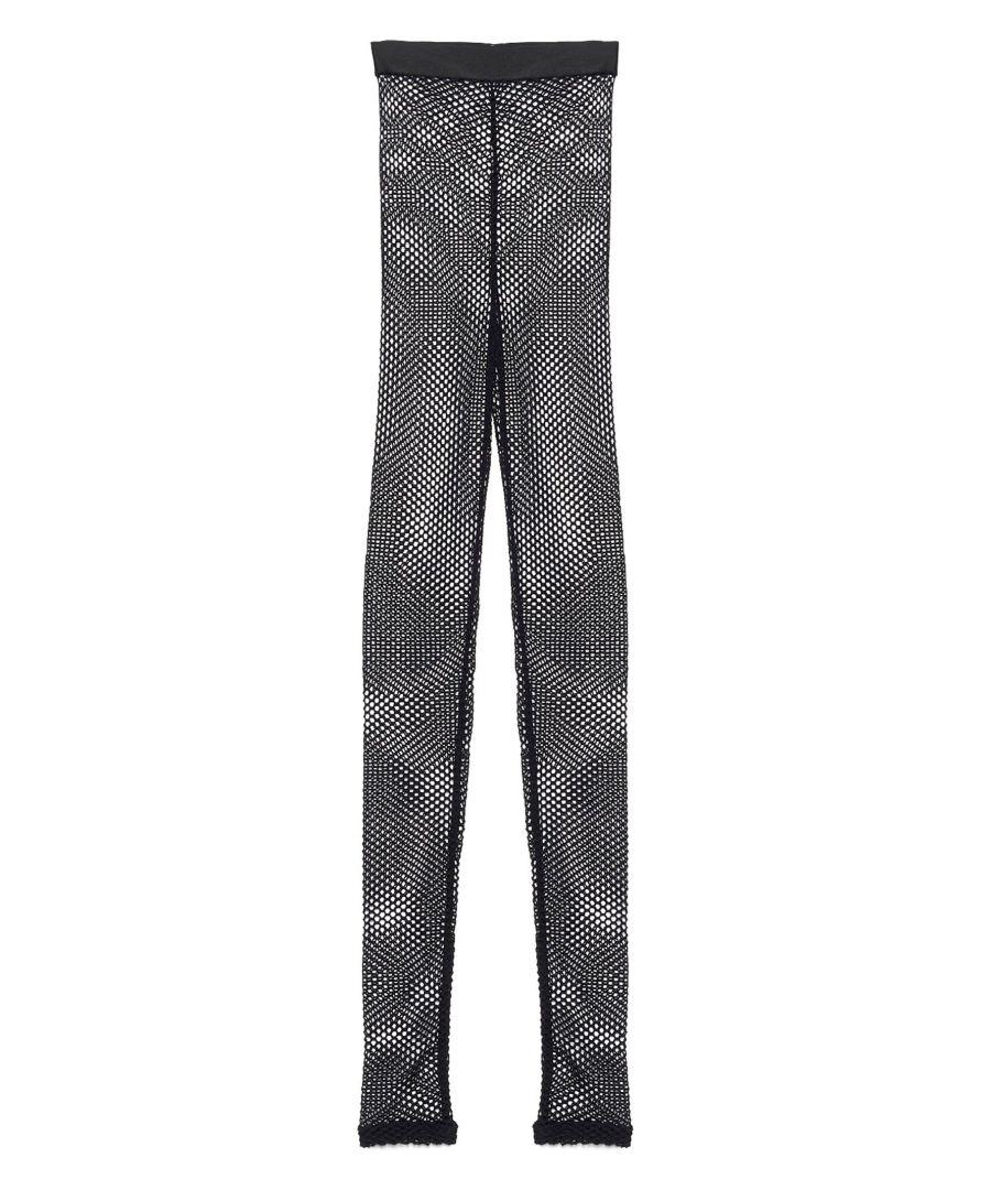 Image for ANN DEMEULEMEESTER WOMEN'S 20012480220099 BLACK POLYAMIDE LEGGINGS