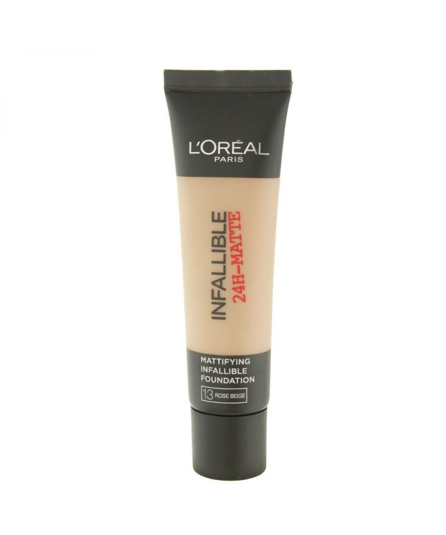 Image for L'Oreal Paris Infallible 24H Matte Foundation 35ml - 13 Rose Beige