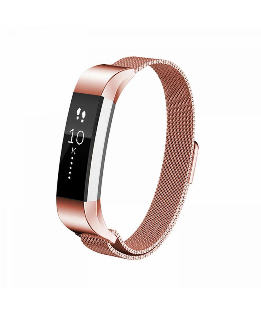 Image for Aquarius Fitbit Alta Milanese Replacement Straps Alta Rose Gold