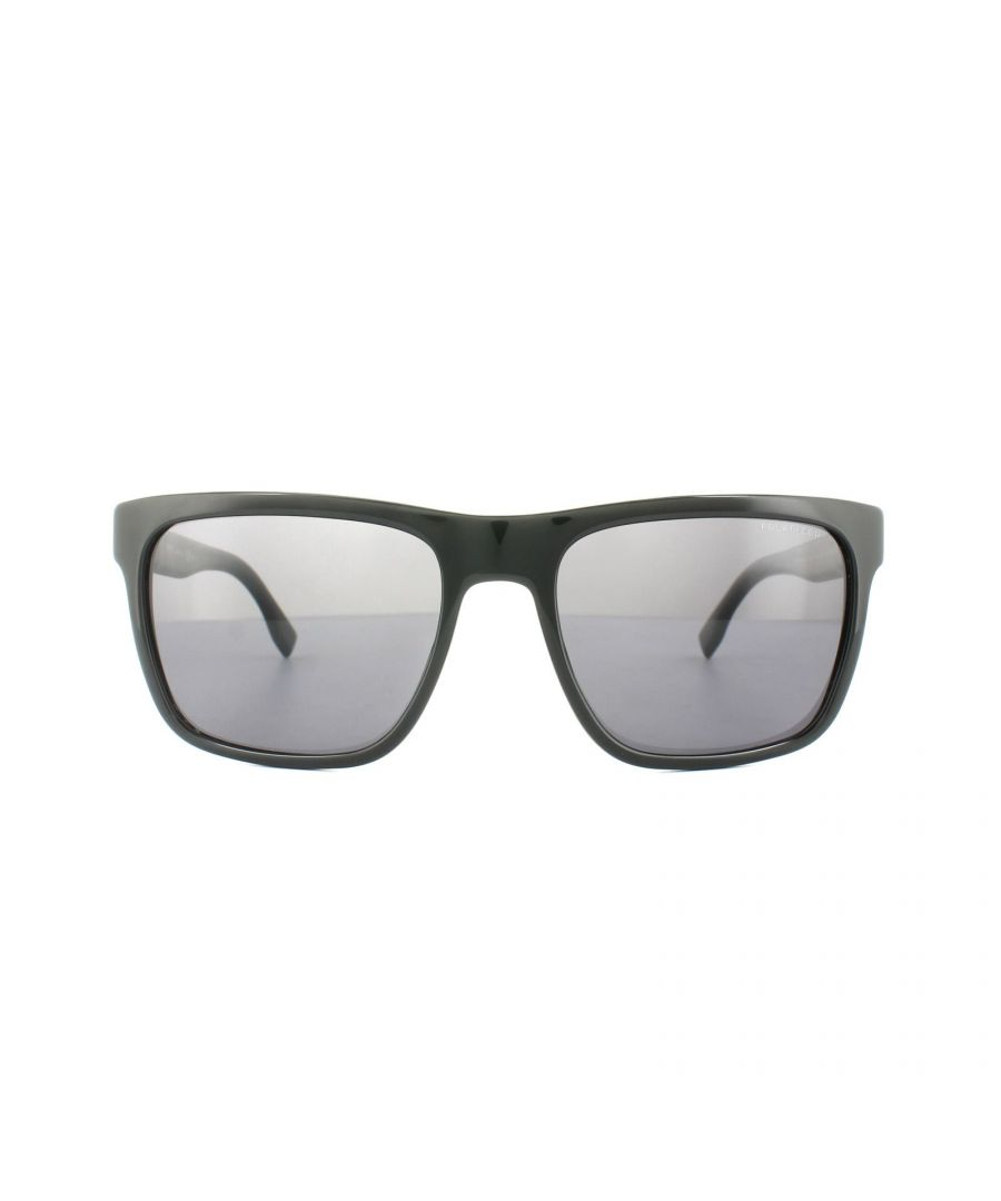 Image for Hugo Boss Sunglasses 0727 1NE 3H Black Grey Polarized