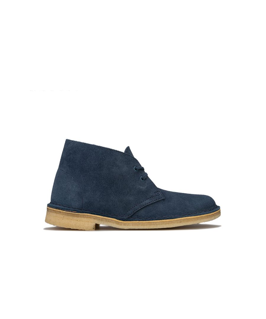 Image for Women's Clarks Originals Desert Boots in Dark Blue
