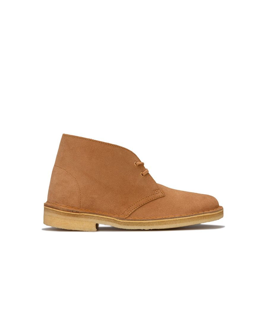 Image for Women's Clarks Originals Desert Boots in Tan