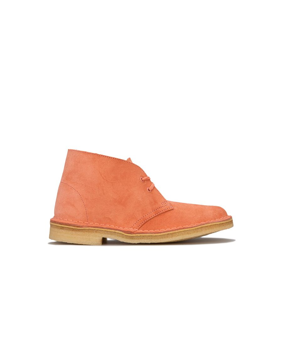 Image for Women's Clarks Originals Desert Boots in Coral