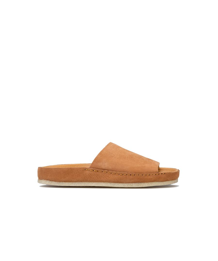 Image for Women's Clarks Originals Ranger Free Slide Sandals in Tan