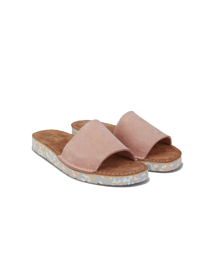 Image for Women's Clarks Originals Lunan Slides in Pink