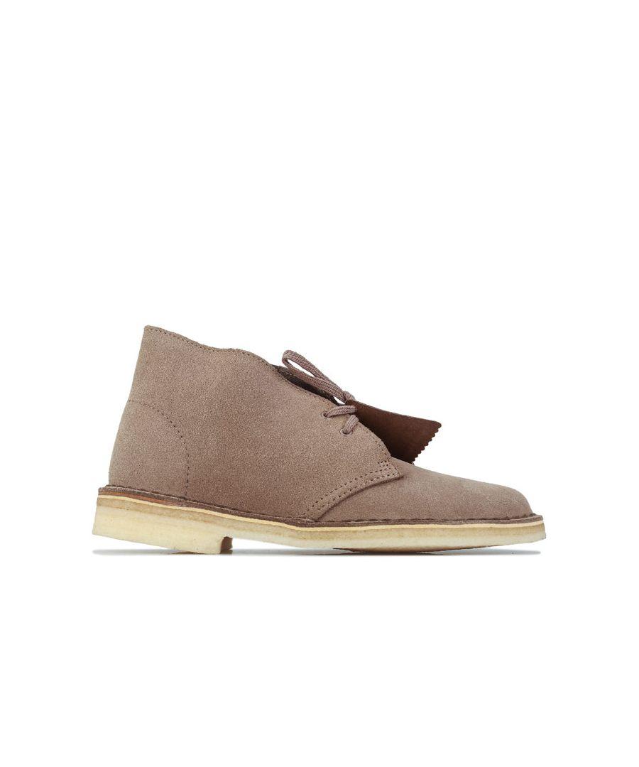 Image for Women's Clarks Originals Desert Boots in Brown