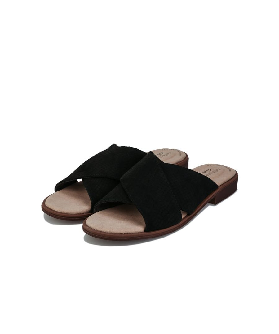 Image for Women's Clarks Declan Ivy Sandals in Black