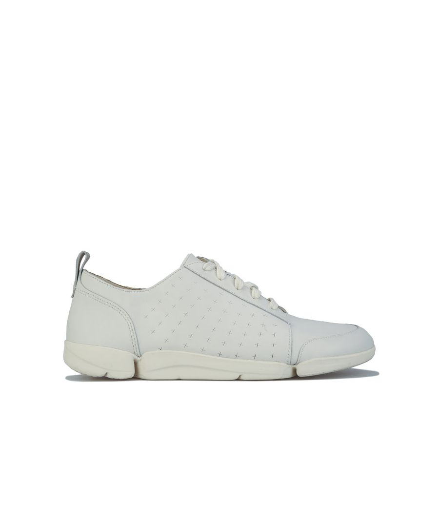 Image for Women's Clarks Trigenic Tri Amelia Edge Trainers in White