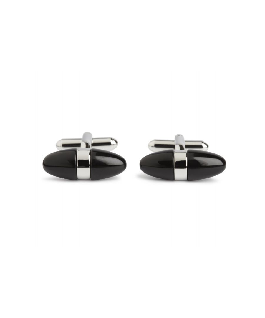 Image for Onyx Egg Cufflinks