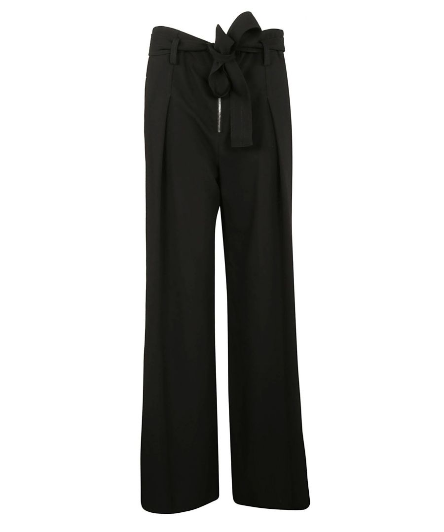 Image for PROENZA SCHOULER WOMEN'S R184601200200 BLACK ACETATE PANTS