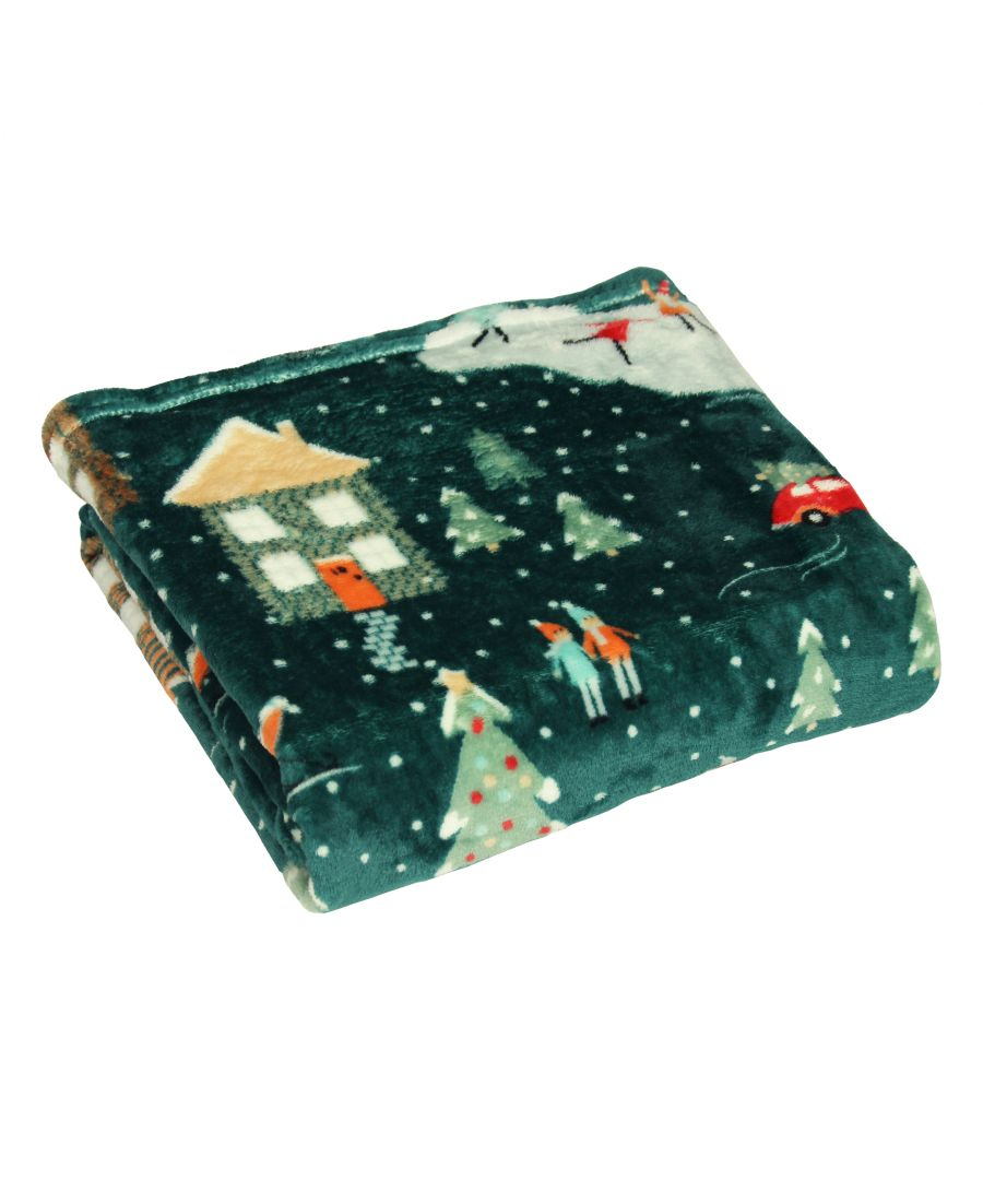 Image for Winter Pines Throw